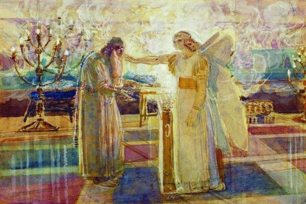archangel-gabriel-struck-zechariah-mute-1824