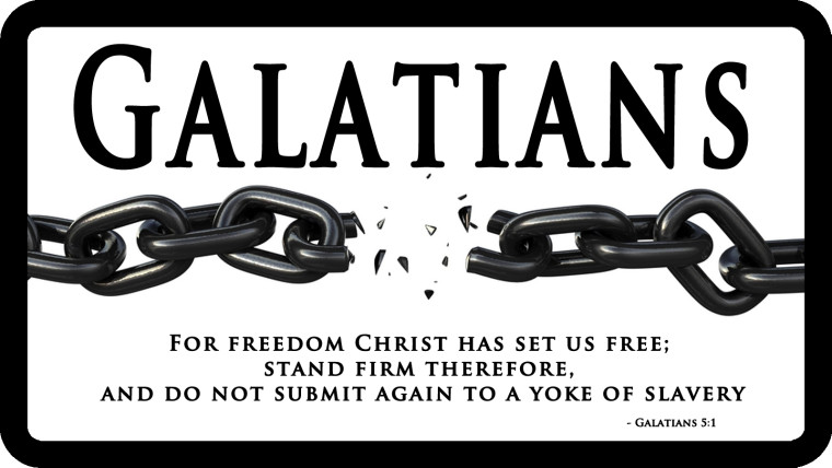 Free Bible Lesson Galatians The Book Of Freedom
