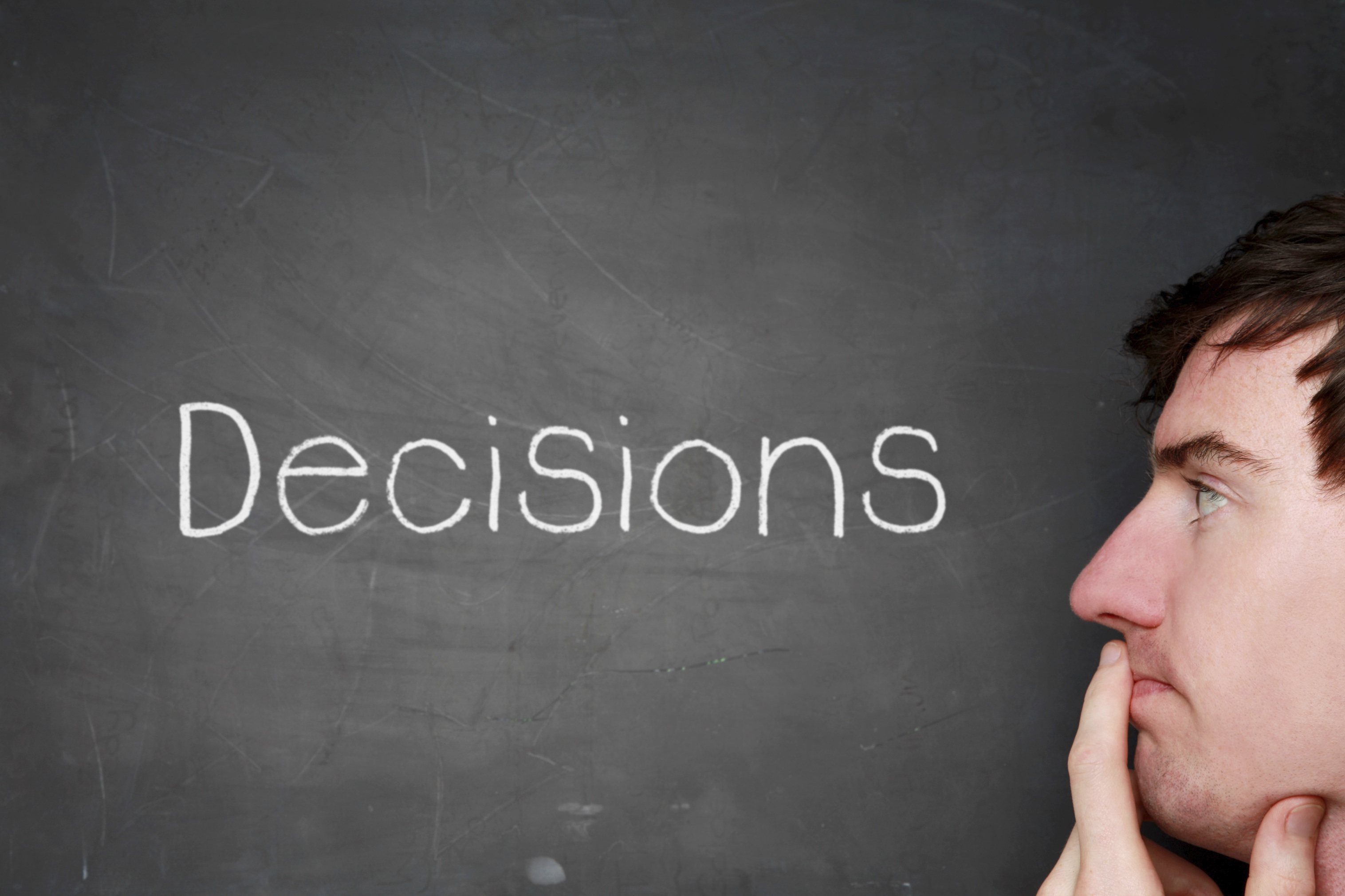 a reflection on peoples attempts to make good and wise decisions 6 tips for making better decisions mike myatt contributor i  as much as you may wish it wasn't so, when it comes to being a leader you're really only as good as your last decision.