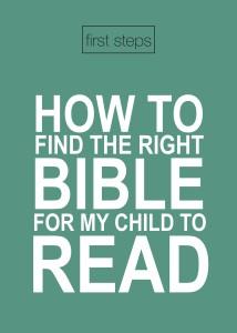 Parents Card - Bible Front