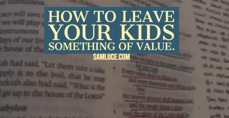 samluce com - Leadership, Family Ministry, and Theology