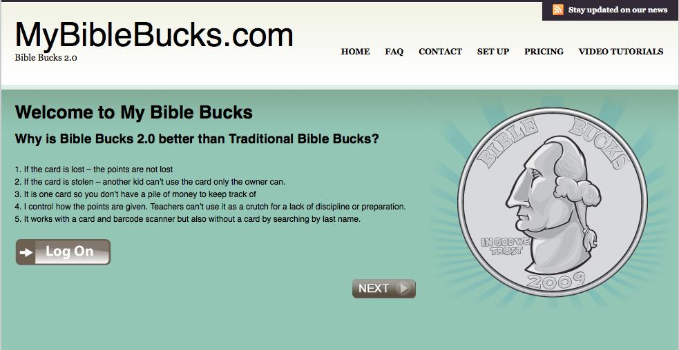 bible bucks