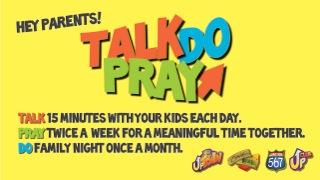 talk pray do